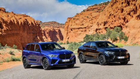 Noile BMW X5 M și BMW X6 M – Informații și fotografii oficiale
