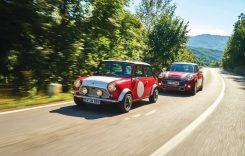 60 de ani Mini: Mini Cooper S 2019 vs Mini 1981