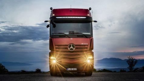 Mercedes-Benz Actros – Prima oară la volanul unui camion