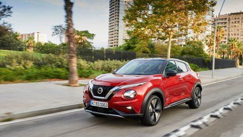 Imagini noi cu Nissan Juke, la primele teste internaționale