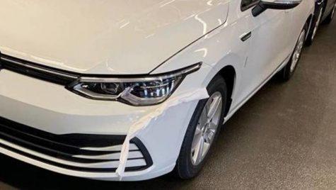 Primele imagini REALE cu noul Volkswagen Golf. A ajuns pe internet înaintea prezentării oficiale!