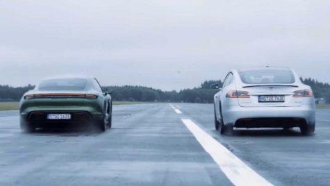 Momentul adevărului – Tesla Model S și Porsche Taycan, față-n față
