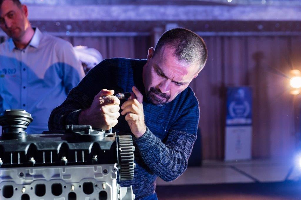 Proba finala_sectiunea mecanica auto_Vișan Cristian Dănuț(locul2)_Mecanicul Anului 2018