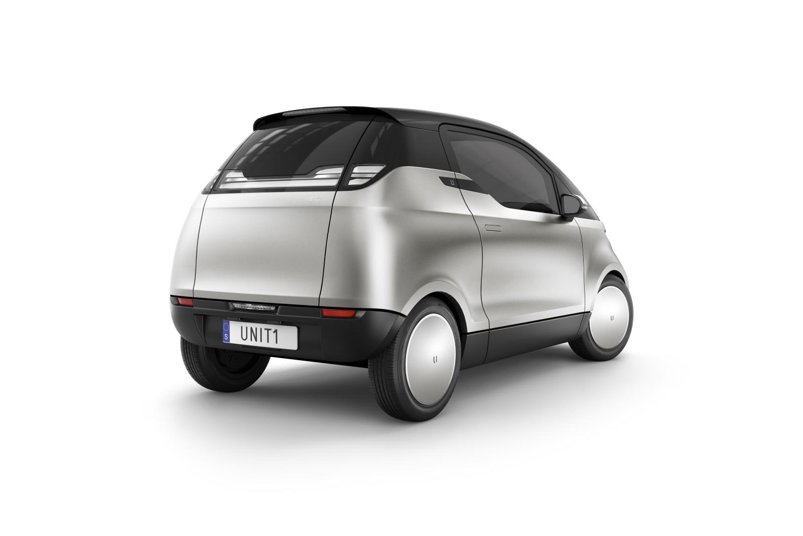 Uniti-One-Rear mașini electrice necunoscute