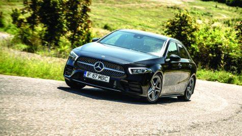 Test Mercedes-Benz A 180 d 7G-DCT Sedan