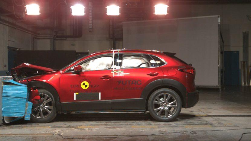 Mazda CX-30 EuroNCAP teste de siguranță