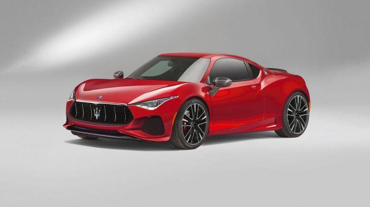 Sportivă compactă Maserati pe baza lui Alfa 4C