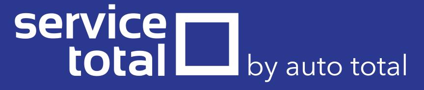 Logo ServiceTotal albastru