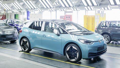 Volkswagen ID.3 va fi fabricat și în uzina de la Dresda
