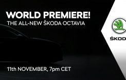 Urmărește LIVE prezentarea oficială a noii Skoda Octavia