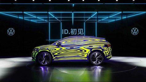 Imagini noi cu viitorul Volkswagen ID.4, primul SUV electric al companiei