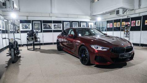 BMW Seria 8 Gran Coupe s-a lansat oficial în cadrul unui concert special al Festivalului SoNoRo