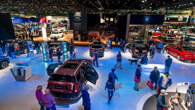 Salonul Auto de la Los Angeles new York