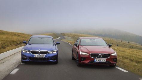 Test comparativ BMW 330i M Sport vs Volvo S60 T5 R-Design
