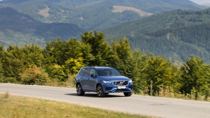 Test Volvo XC90 B5 AWD: B pentru mild hybrid