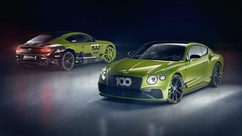 Bentley lansează o ediție specială a modelului Continental GT pentru a marca recordul de la Pikes Peak