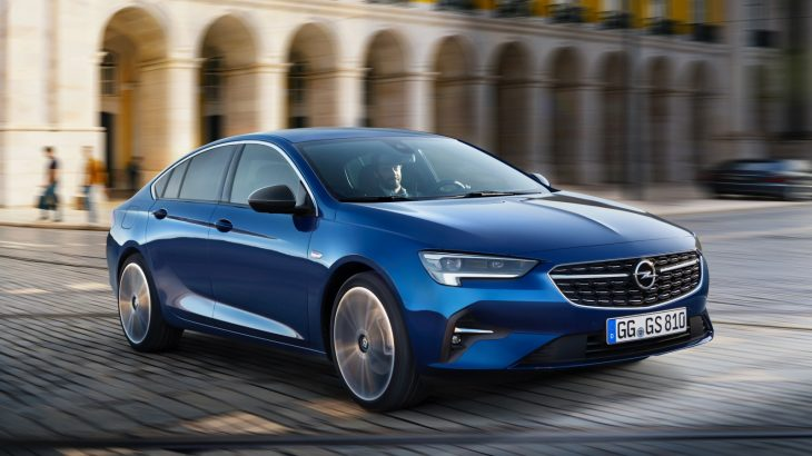 Opel Insignia facelift – primele imagini oficiale