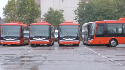 Turda devine primul oraș cu transport în comun exclusiv electric