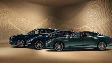 Ediție specială Royale pentru Maserati Quattroporte, Levante și Ghibli