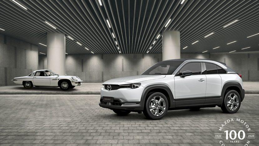 Mazda aniversează un secol de existență