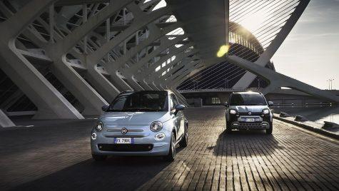 Fiat lansează versiuni mild-hybrid pentru modelele Panda și 500