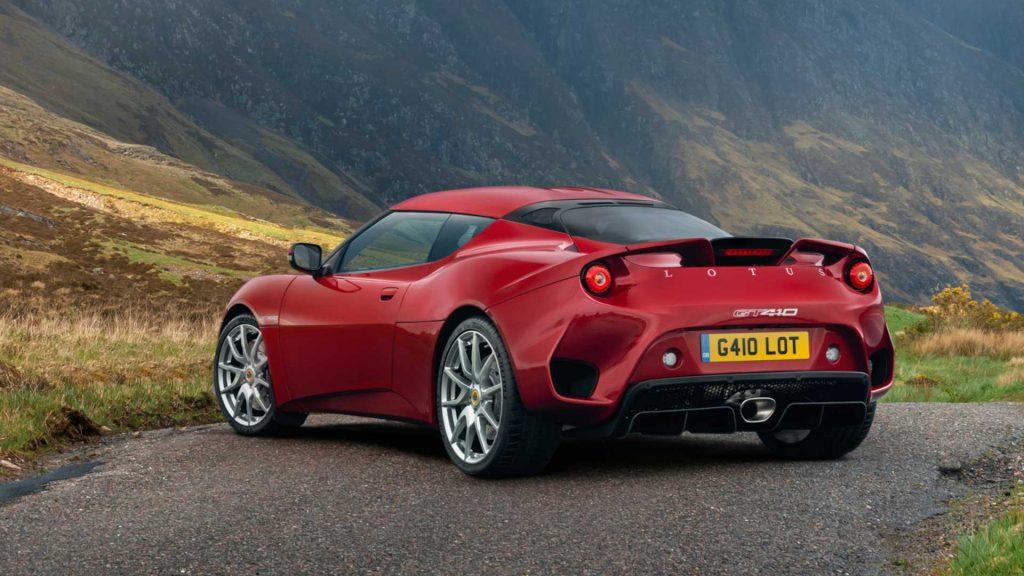 """Lotus introduce versiunea """"de bază"""" Evora GT410"""