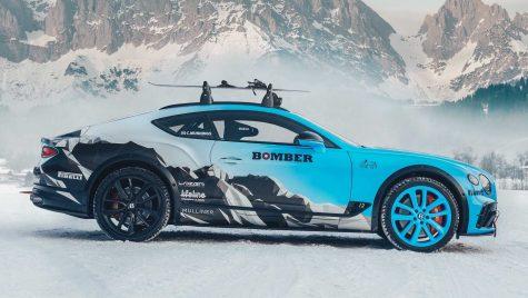 Bentley Continental este pregătit pentru Ice GT