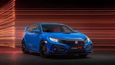 Honda Civic Type-R facelift – schimbări minore de design
