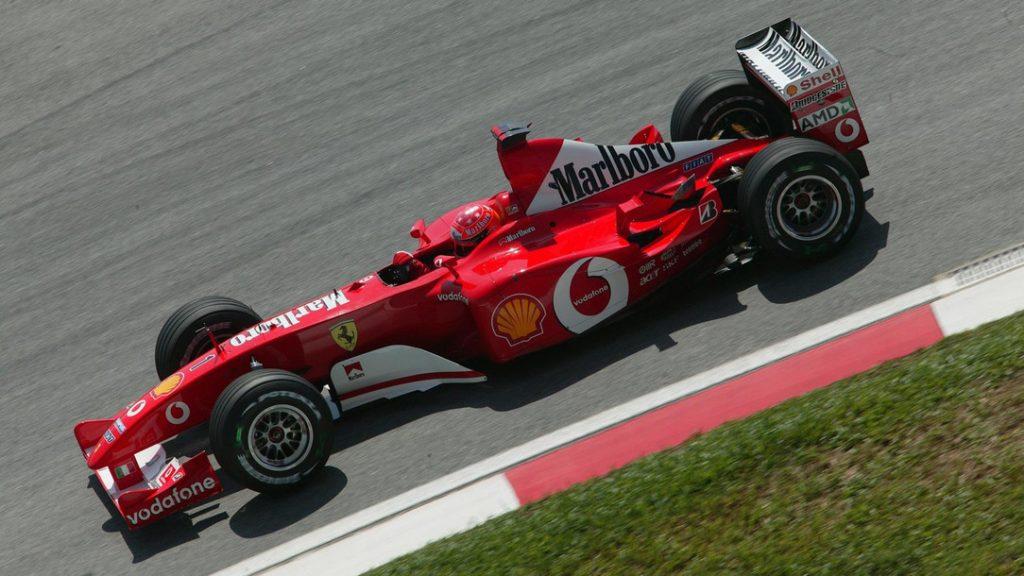 Ferrari 2002 Michael Schumacher