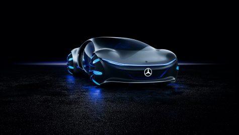 Mercedes-Benz Vision AVTR este un concept electric inspirat de filmul Avatar