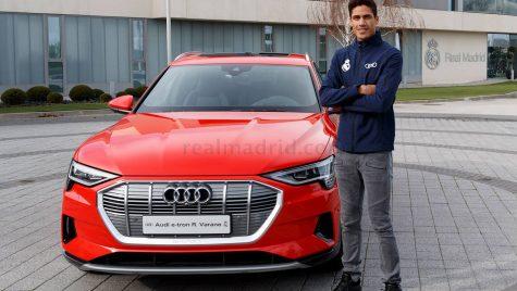 Jucătorii clublului Real Madrid au primit mașini noi de la Audi