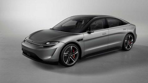 Sony a prezentat un automobil electric concept numit Vision-S