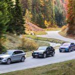 Test video Audi E-tron Quattro, Jaguar I-Pace, Mercedes-Benz EQC