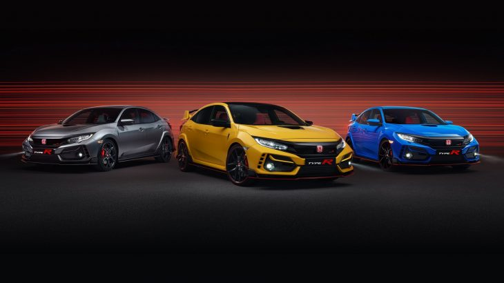 Sport Line & Limited Edition, plus Honda Civic Type R facelift