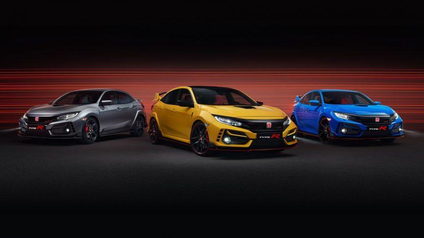Sport Line & Limited Edition, Honda extinde gama Civic Type R