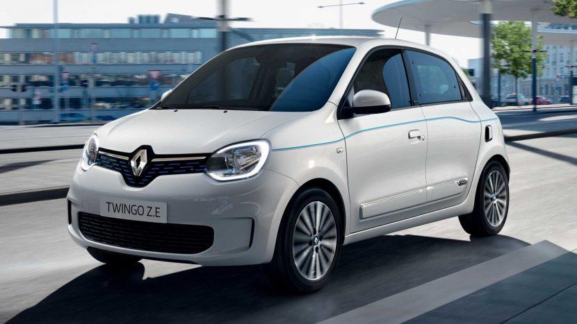 Renault Twingo Z.E. - o citadină electrică franceză