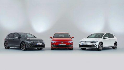 VW prezintă noile Golf GTI, GTE și GTD