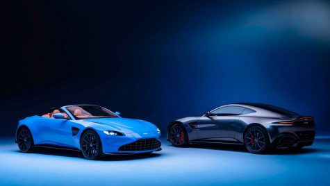 "Aston Martin Vantage Roadster, cel mai rapid ""convertible"""
