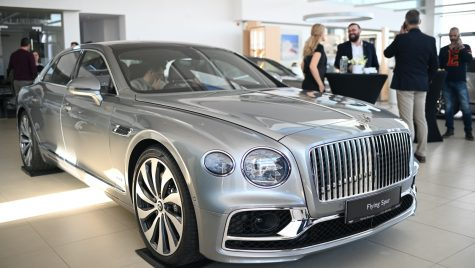 Noul Bentley Flying Spur a ajuns în showroomul de la București