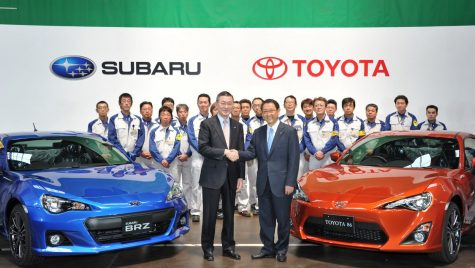 Subaru se alătură oficial Grupului Toyota în 2020