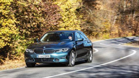 Test BMW 330e: Un hibrid inteligent