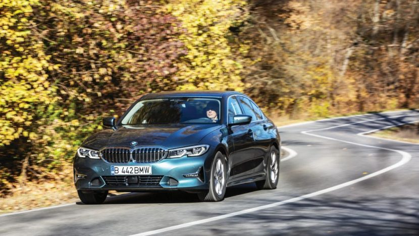 test BMW 330e 2019