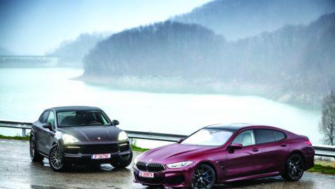 Moda coupe cu 4 uși: BMW Seria 8 Gran Coupe vs Porsche Cayenne Coupe