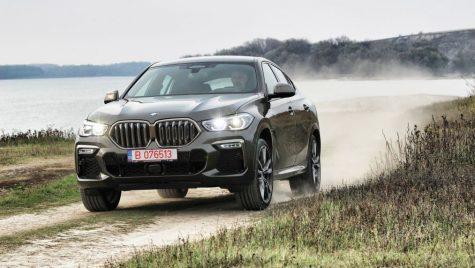 Test drive BMW X6 M50d – Uzina de forță
