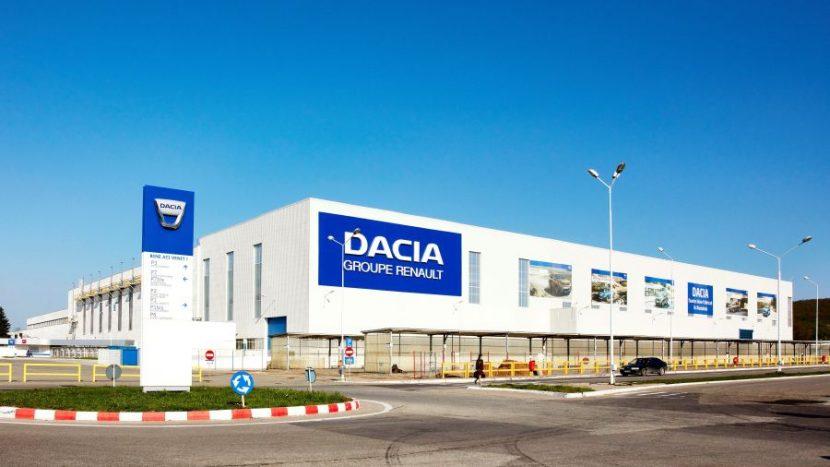 mașini uzina Dacia de la Mioveni