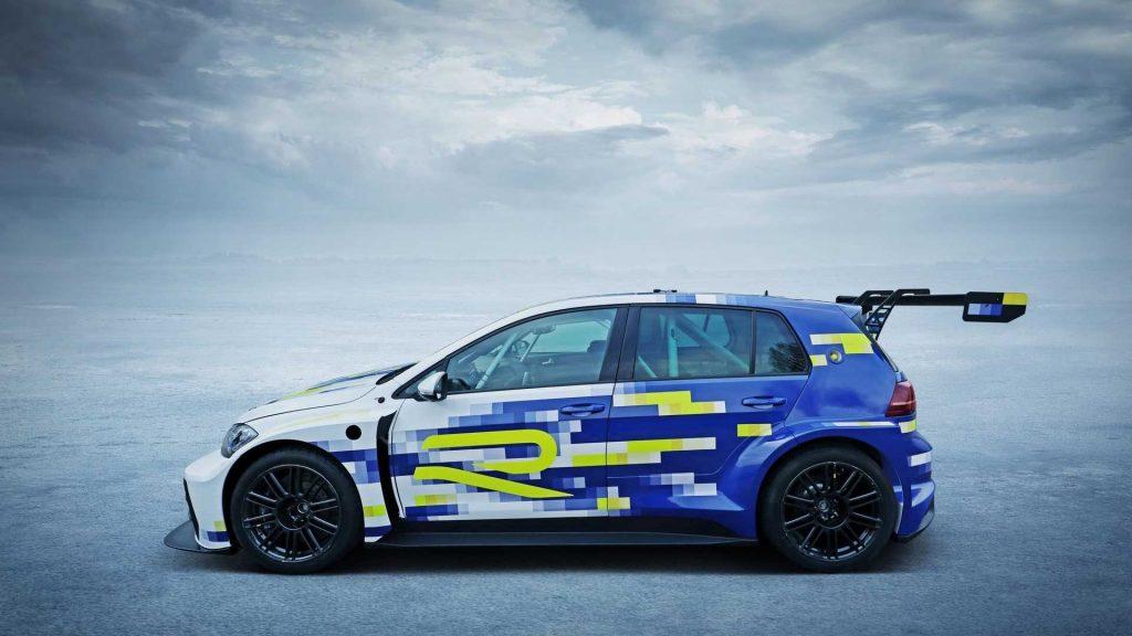 VW eR1, ambasadorul electric al viitorului Golf R