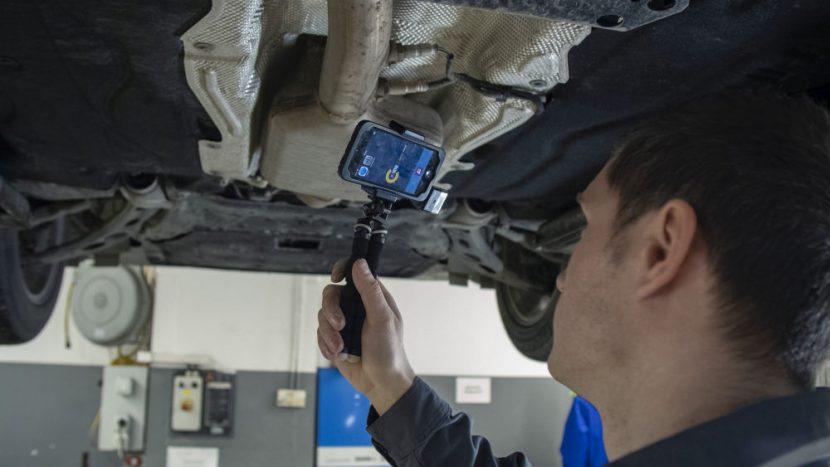 BMW Predare-preluare fara contact