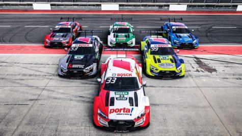 Audi RS 5 DTM: un nou design pentru mașina campioană