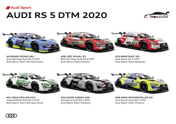 Audi RS5 DTM 2020