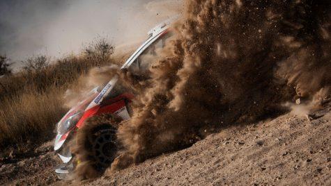 WRC 2020 – Raliul Mexicului: Ogier lider după prima zi completă, Fiesta lui Lappi ia foc
